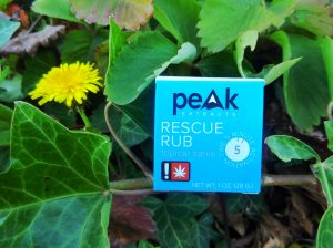 Peak Extract Rescue Rub