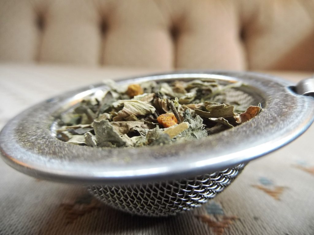 Allergy Blend Tea from Mossy Tonic at Home Grown Apothecary