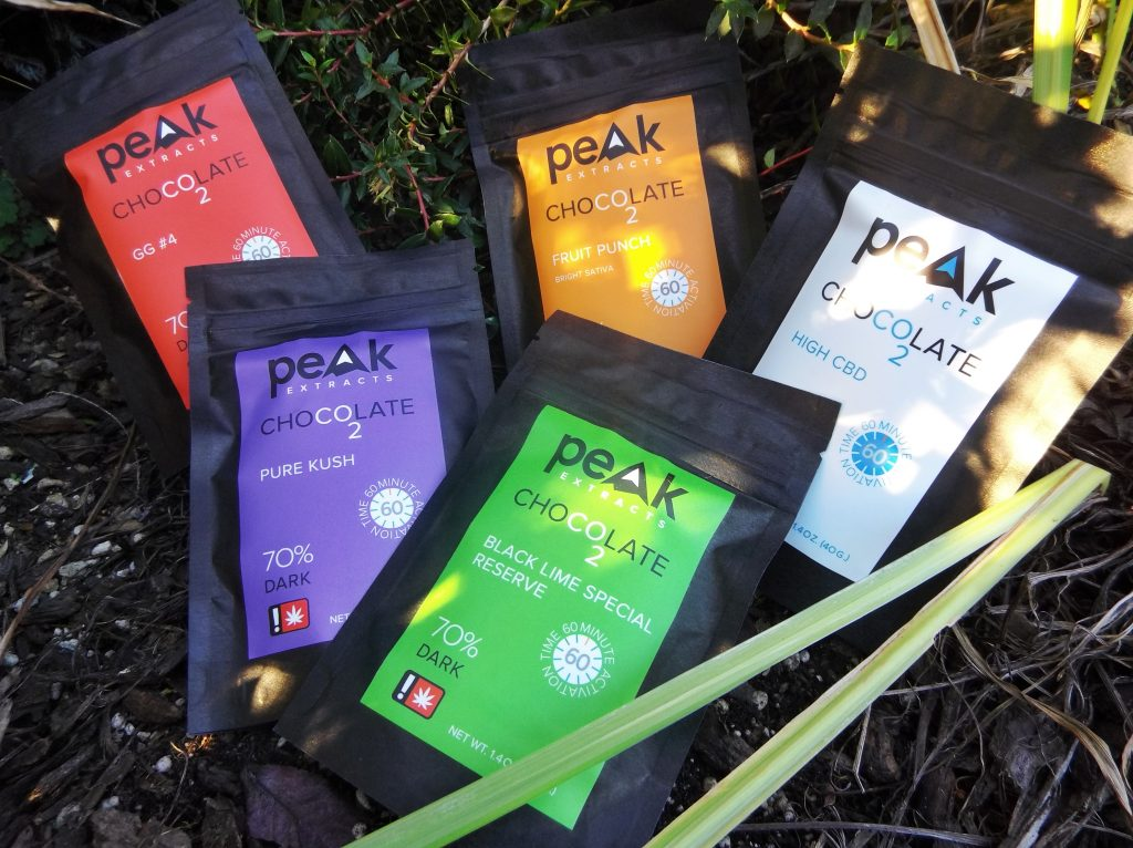 Peak Chocolates Edible Menu