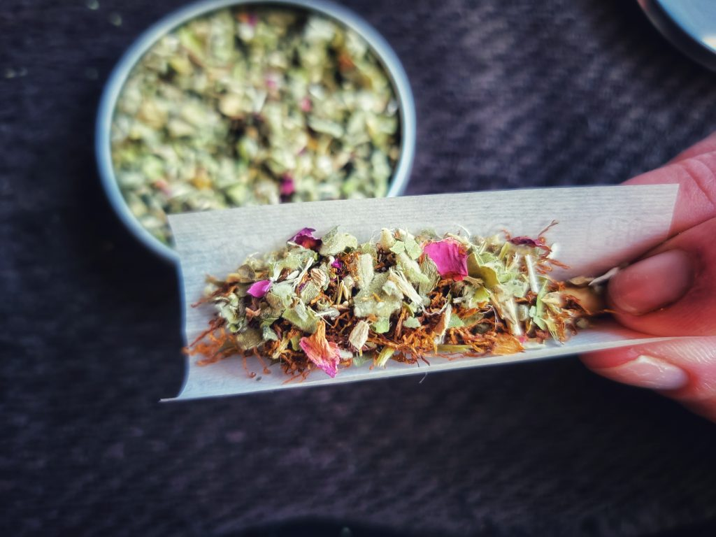 Herbal Smoking Blends at Home Grown Apothecary
